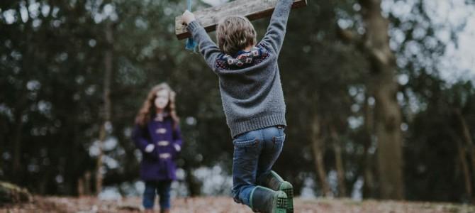 Naturlegeplads er afstressende for børn